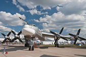 The Tupolev Tu-95 — Stock Photo