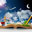 Stockfoto: Open book