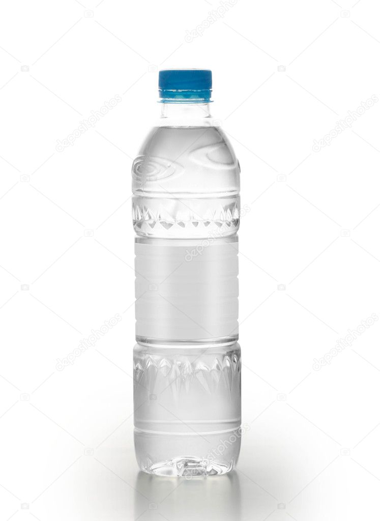 Bottle of water isolated on white background — Stock Photo #10567318