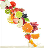 Fruits juice — Fotografia Stock