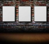 Empty frames on wall — Photo