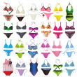 Set of swimsuit — Stock Photo #10203469