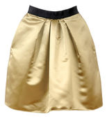Golden skirt — Stock Photo
