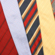 Collection color tie — Foto Stock