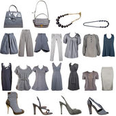 Collection clothes — Stock Photo