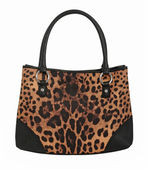 Leopard bag — Foto Stock