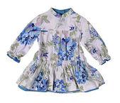 Mavi elbise — Stok fotoğraf