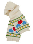 Woolen scarf — Stock Photo
