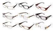 Kolekcja okularów — Zdjęcie stockowe