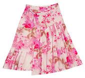Blommor kjol — Stockfoto