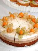 Meyveli kek — Stok fotoğraf