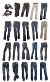 Jeans collection — Stock Photo
