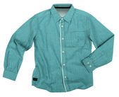 Green shirt — Stock Photo