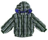 Striped jacket — Stock Photo