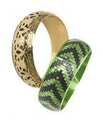 Bracelet en or vert — Photo