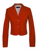 Red jacket — Stock Photo
