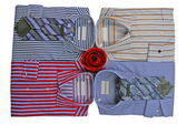 Strip shirts — Stock Photo
