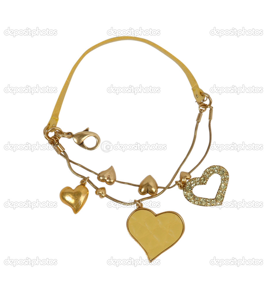 Gold necklace — Stock Photo #10506951
