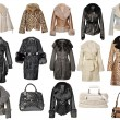 Fur coat collection — Stock Photo #10510064