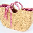 Stock Photo: Basketry bag