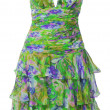 Foto Stock: Green sundress