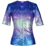 Blue blouse — Stock Photo #10511748