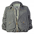 Striped jacket — Stockfoto