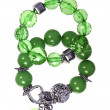 Emerald bracelet — Stock Photo #10512305