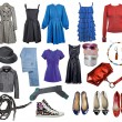 Collection clothes - Stock Photo