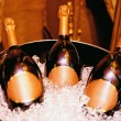 christmas champagne — Stock Photo #10512736
