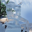 Competition ice sculptures, works of the best sculptors of the Ural ranked prizes — Stock Photo #10512959