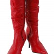 Red boots — Stock Photo #10513876