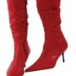Red boots — Stock Photo #10513906