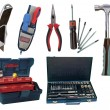 Collection of tool — Stock Photo
