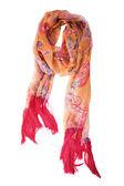 Silk scarf — Stock Photo