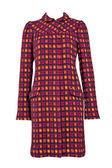 Red woolen coat — Stock Photo