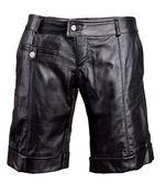 Shorts de couro — Fotografia Stock