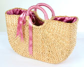 Basketry bag — Stock Photo