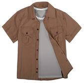 Brown shirt — Stock Photo