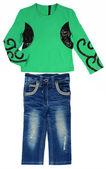 Giacca e jeans bambino — Foto Stock