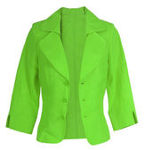 Yeşil ceket — Stok fotoğraf