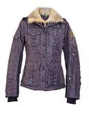 Purple jacket — Stock Photo