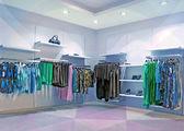 Blå butiken — Stockfoto