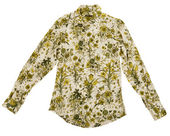 Flowers shirt — Stock Photo