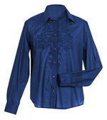 Blue blouse — Stock Photo