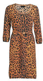Leopard gown — Stock Photo