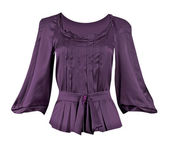 Violet blouse — Stock Photo