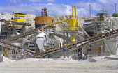 Marble quarry equipment — Stockfoto