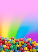 Farb postkarte — Stockfoto