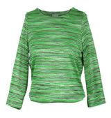 緑のストライプ セーター — ストック写真